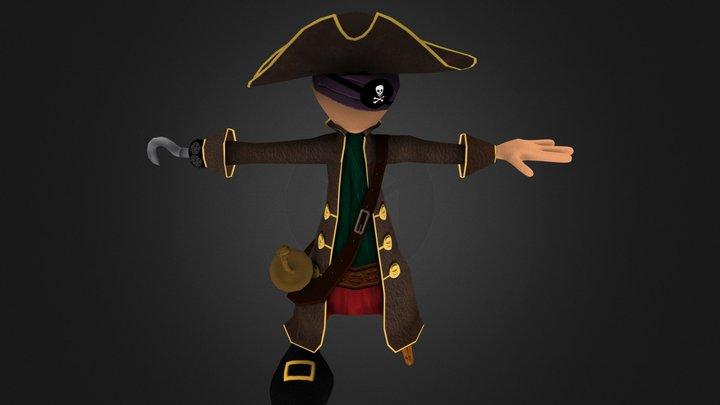 pirateman.obj 3D Model