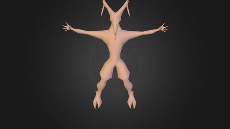goatboy-uv.obj 3D Model