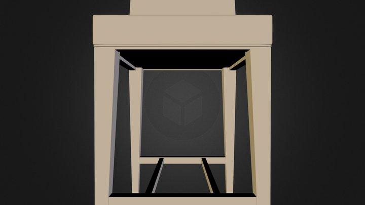 Chair Zoe N200612.3DS 3D Model