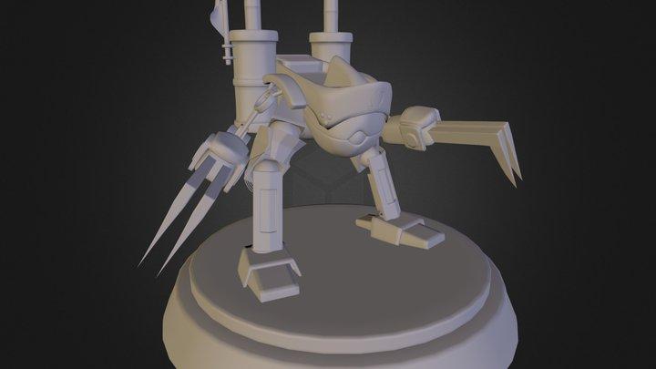 FFSoldier 3D Model