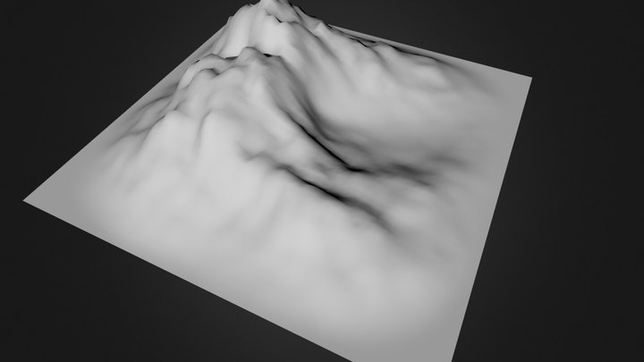 land 3D Model