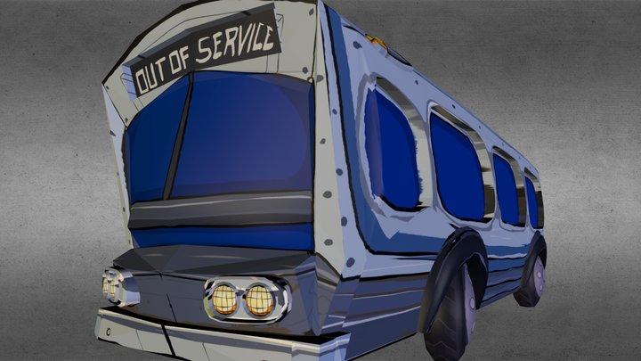 Bus. 3D Model