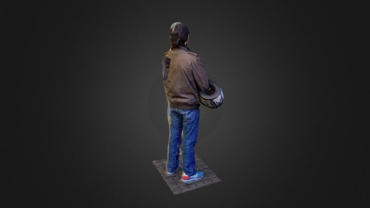 Edu Waiting 3D Model