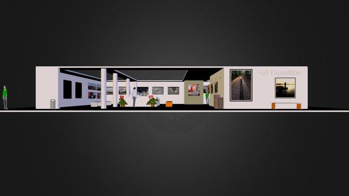 Galerie virtuelle  3D Model