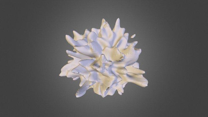 galaxy simulation 3D Model