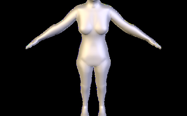 Klara.obj 3D Model