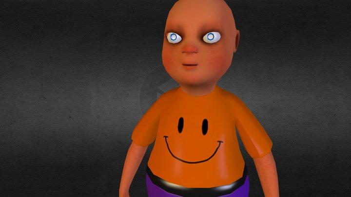 Fat Guy 3D Model