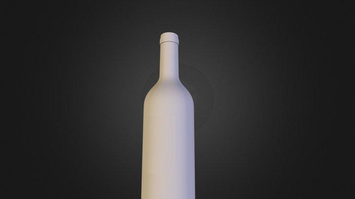 wine.obj 3D Model