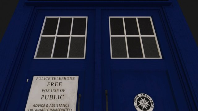 The TARDIS 3D Model