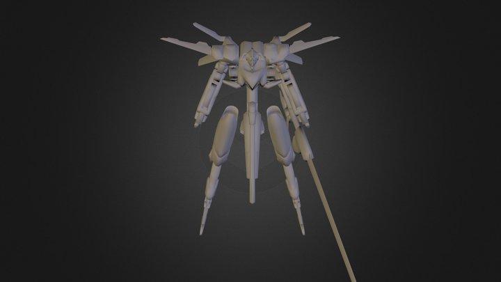 Knightmare Frame (blockout) 3D Model