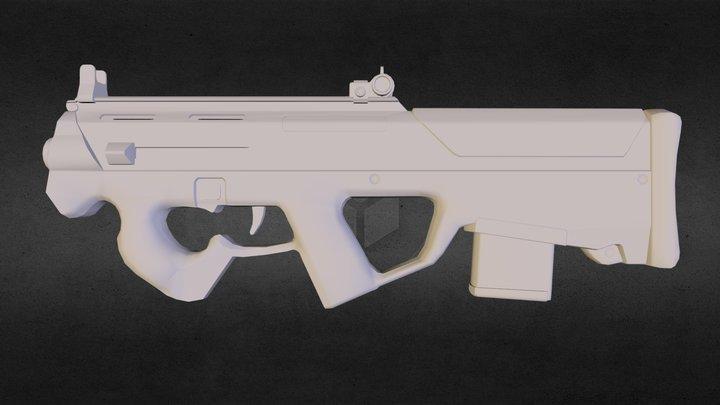 PDW-R alpha studioz 3D Model