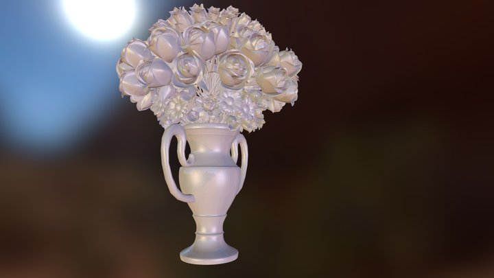 Bouquet_V2.obj 3D Model