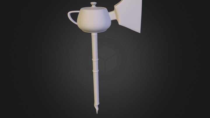 Mysterious Kettle Axe 3D Model
