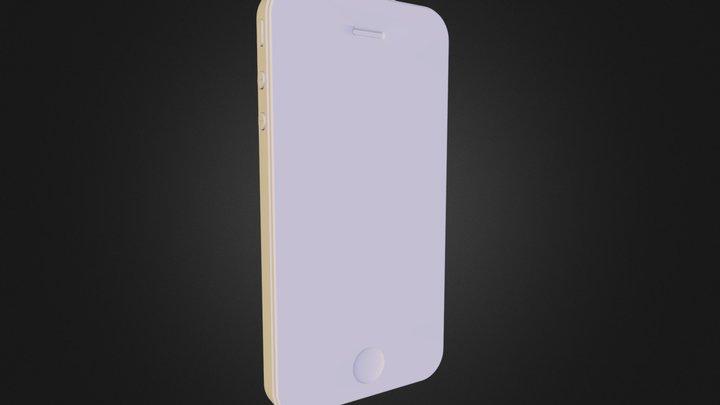 iPhone_4 3D Model