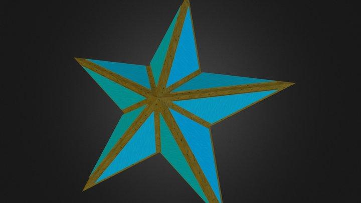 Pentagrammic Dipyramid 3D Model