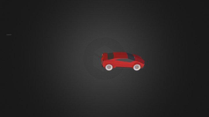 Ducati car ONLY.3ds 3D Model