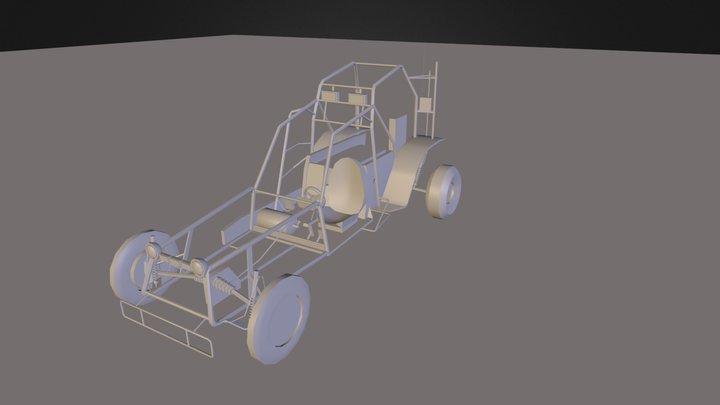 Half-Life Buggy Redux 3D Model