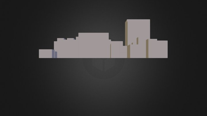 CITY vol2.3DS 3D Model