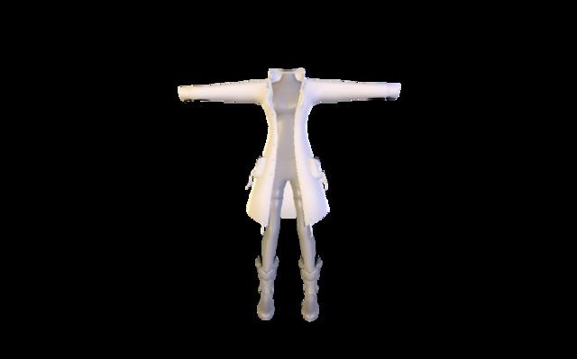 fawxington.blend 3D Model