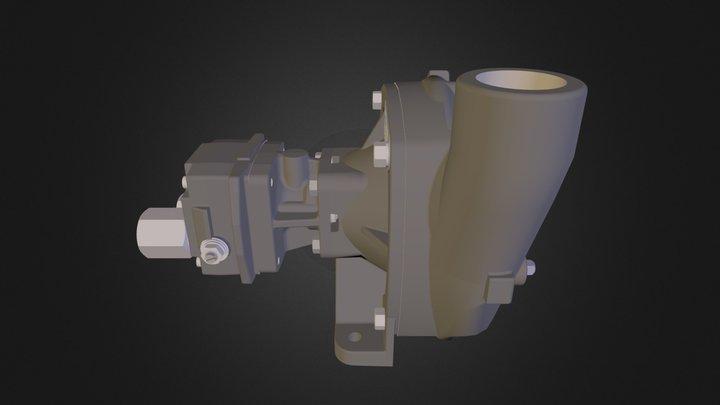 Hypro 9306C-HM5C (ferro fundido) 3D Model