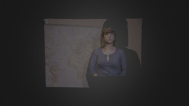 Sharon Miranda. 3D Model