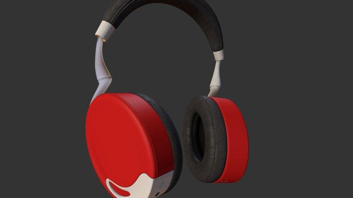 Parrot Zik Red 3D Model