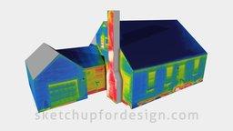 Infrared House 3D Model