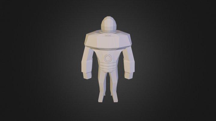 Solaris Main Character.3ds 3D Model