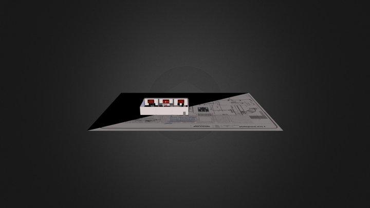 Coke Amsterdam Hall Ajax 3D Model