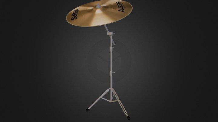 Crash Cymbal Obj.zip 3D Model