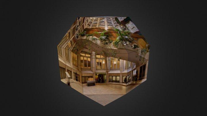 La Pedrera - Pati Provença 3D Model