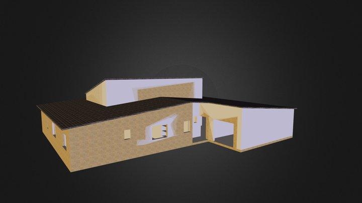 Avec le toit 3D Model