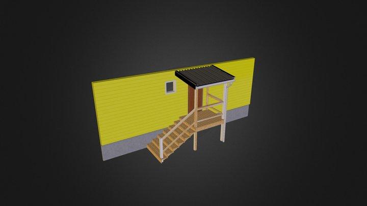 Trappa 3D Model