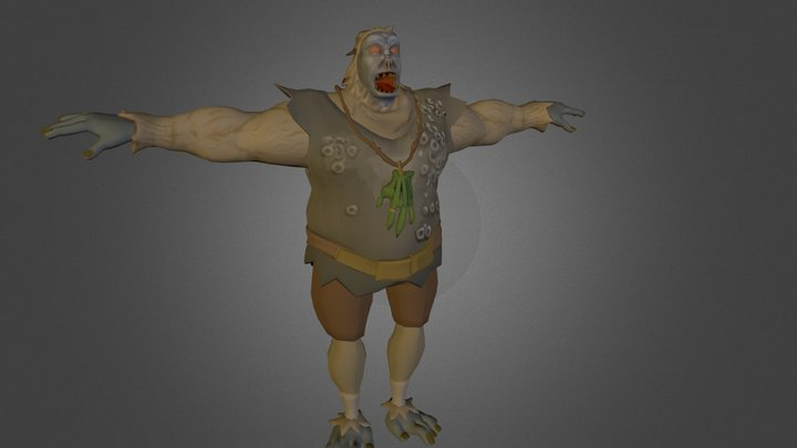 Yults the Yeti without a soul 3D Model