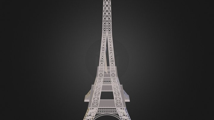 Tower N020708.3ds 3D Model