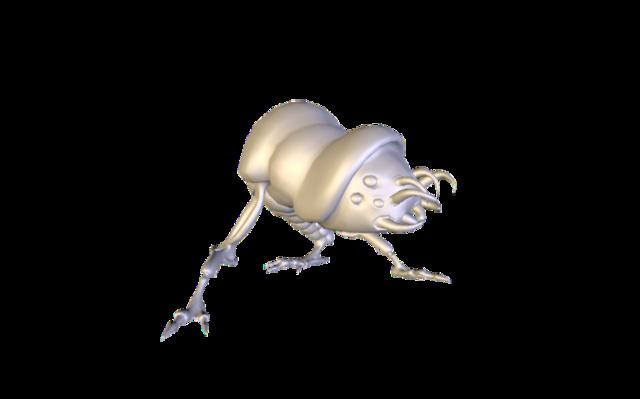 Chenille.obj 3D Model
