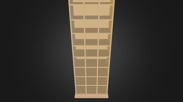 shoe_cabinet.3ds 3D Model