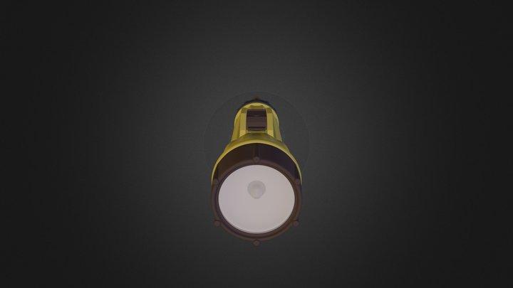 ME-High_Poly_FlashlightNoCont 3D Model