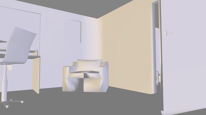Building_1_skechfab.obj 3D Model