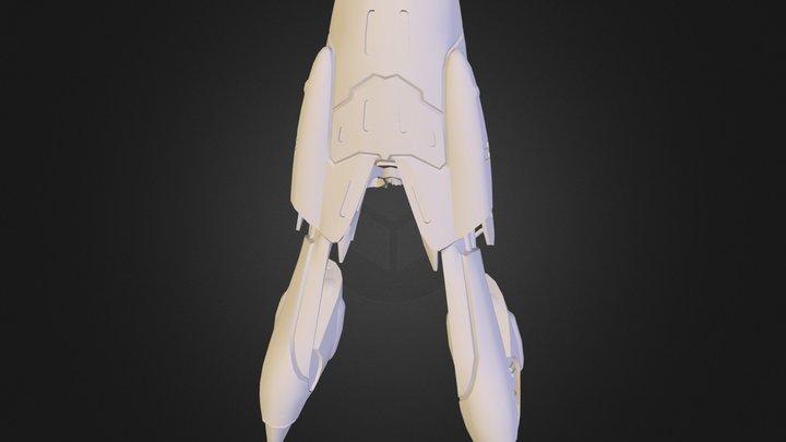 GVS Nephthys.obj 3D Model