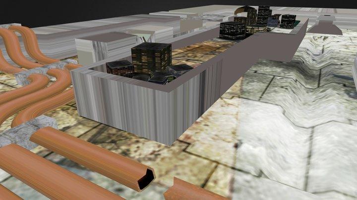 Wastelands 3D Model