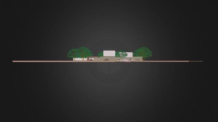 ARODRIGUEZ HOUSE 2.3ds 3D Model