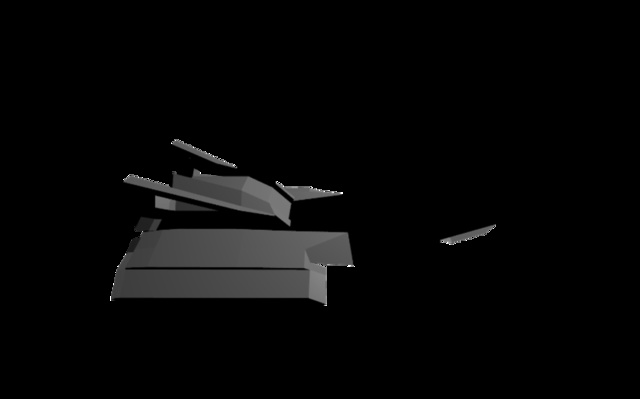 Prototype Fighter Concept 3D Model
