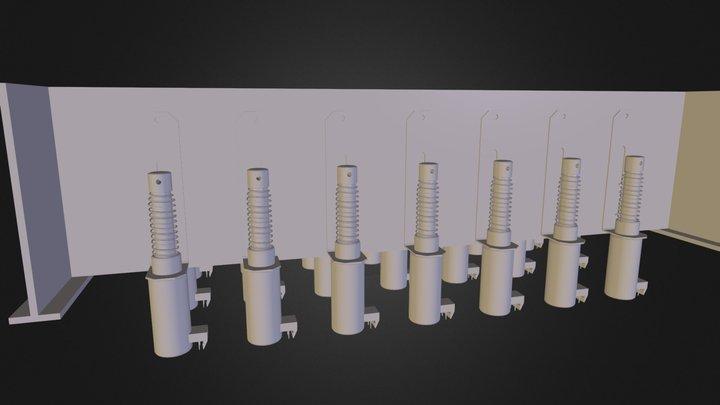SolenoidGrid.obj 3D Model