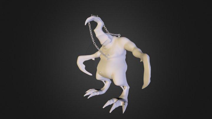 Horn Head 3D Model