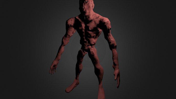 Berhanu N Initial Sculpting_New.blend 3D Model