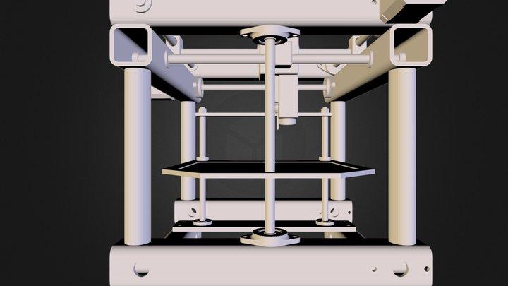 3 axes PCB Milling Machine.STL 3D Model