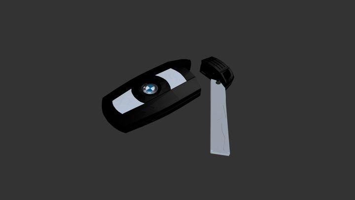 BMW Key 3D Model