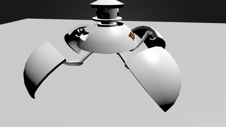 TO-64 3D Model
