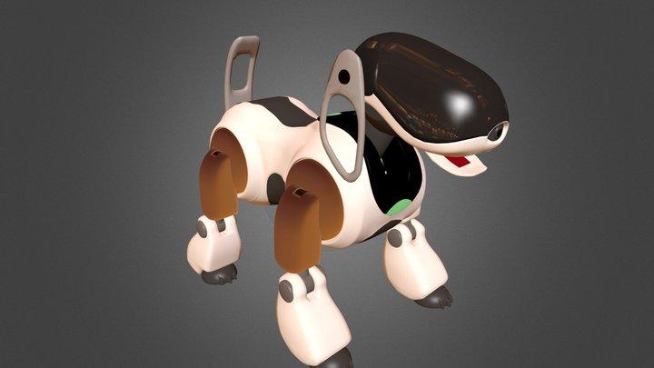 Sony Aibo robo dog 3D Model
